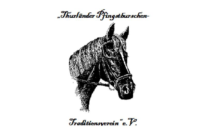 Logo Pfingstverein Thurland Pferdekopf